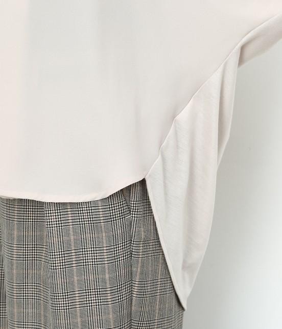 ロペピクニック | 7分袖ヒラリボンムジシャツ - 6