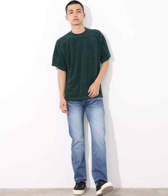 アダム エ ロペ オム | リネンパイルビッグTシャツ - 2