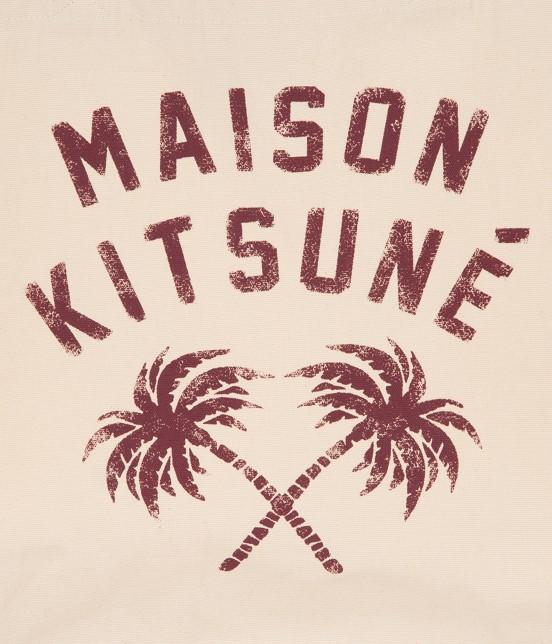 MAISON KITSUNÉ MEN | TOTE BAG PALMTREE - 5