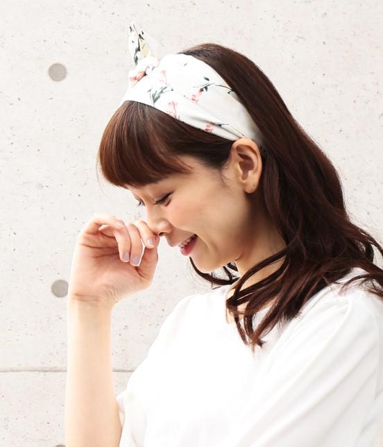 ビス | 【sweet4月号掲載】小花柄ナロースカーフ - 4