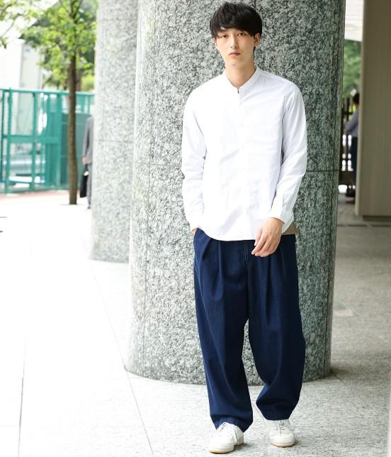 ジュンレッド   【トレンドアイテム】バンドカラーシャツ - 6