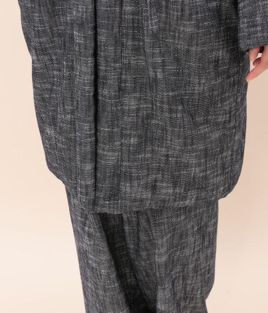 サロン アダム エ ロペ ウィメン | 【宮田織物 for SALON】ロング綿入れ半纏 - 10