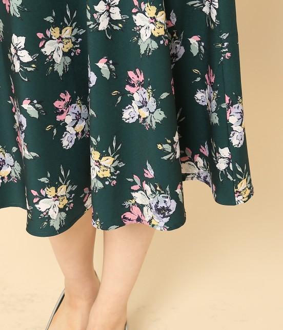 ロペピクニック | 花柄ギャザースカート - 5