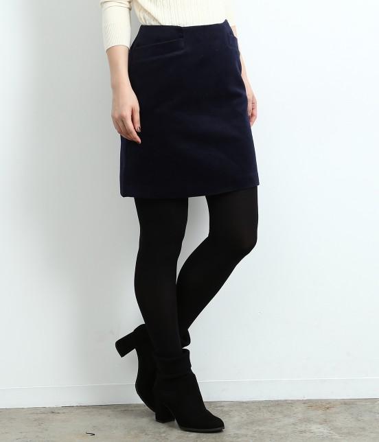 ロペピクニック | 【HAPPY PRICE】カラー台形スカート | ネイビー