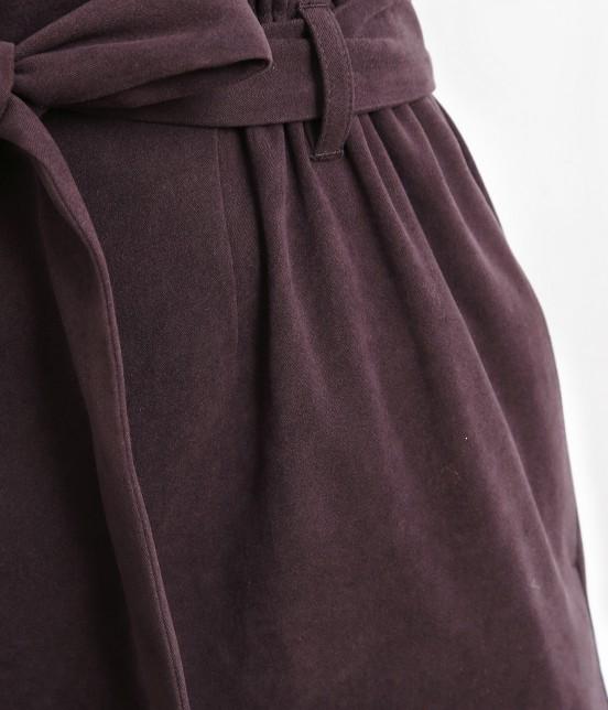 ロペピクニック   【新色追加】【HAPPY PRICE】ベロアタッチアイラインスカート - 6