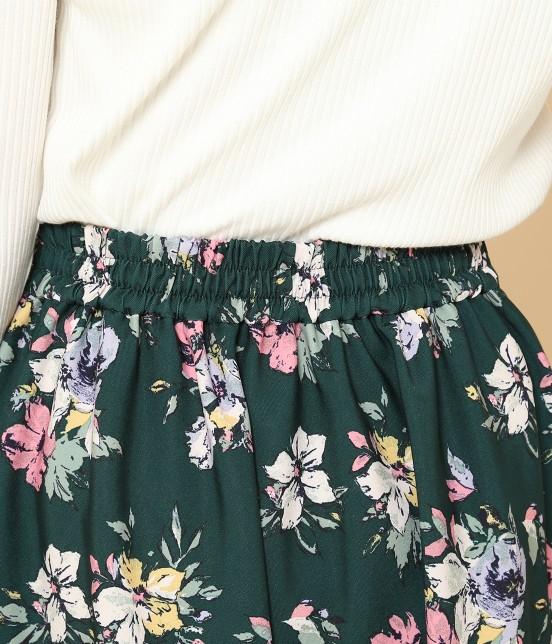 ロペピクニック | 花柄ギャザースカート - 3