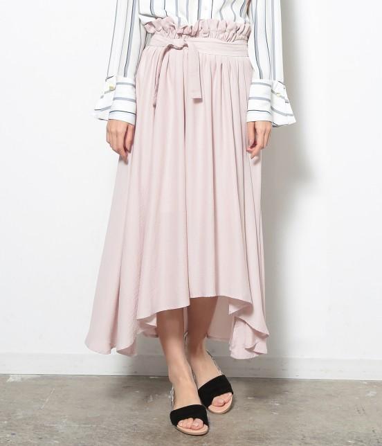 ロペピクニック | 【HIRARI COLLECTION】ヴィンテージサテンスカート