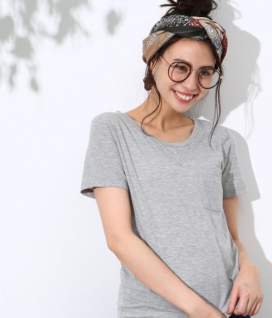 ロペピクニック   クルーネックTシャツ