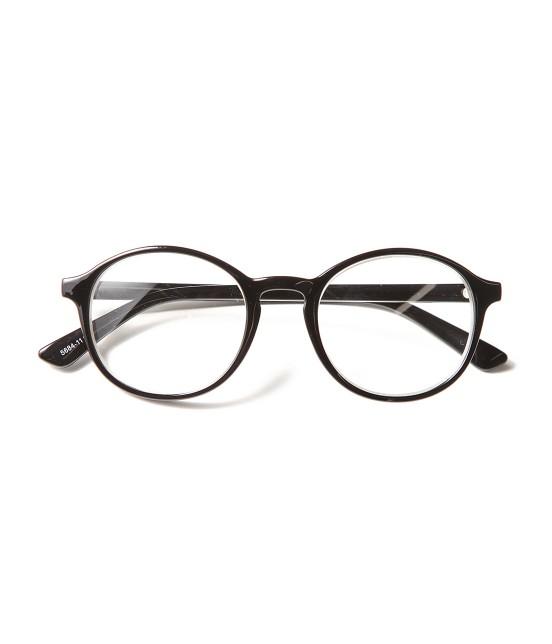 ロペ マドモアゼル | シンプル細フレーム眼鏡 | ブラック