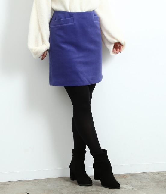 ロペピクニック | 【HAPPY PRICE】カラー台形スカート | ブルー系