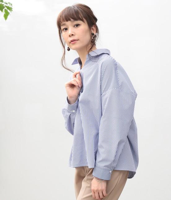 ビス | 【sweet4月号掲載】バックシャン重ねタックブラウス - 1