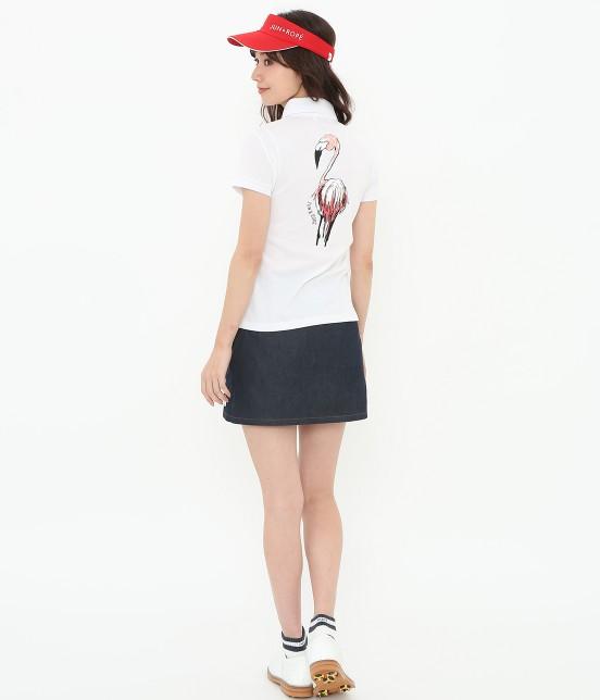 ジュン アンド ロペ | 【UV】【吸水速乾】COOL MAX切替ポロシャツ - 13