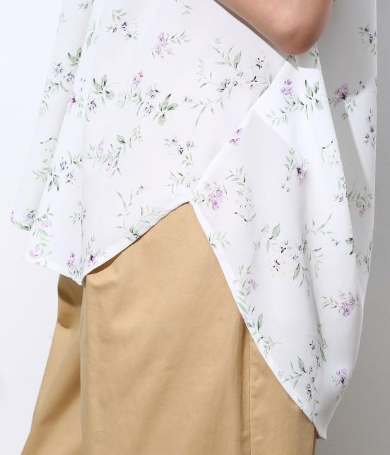 ロペピクニック | 花柄ヒラリボンシャツ - 5