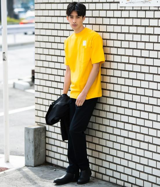 アダム エ ロペ オム | 【CAMBER for ADAM ET ROPE'】FAKE PRINT Tシャツ - 12