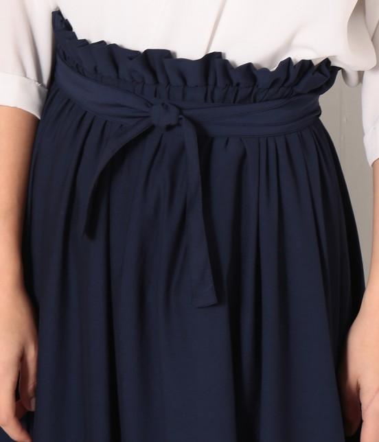 ロペピクニック | 【HIRARI COLLECTION】ヴィンテージサテンスカート - 4