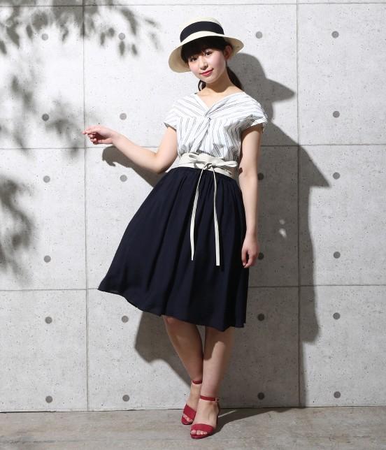 ロペピクニック   ヴィンテージギャザースカート - 10