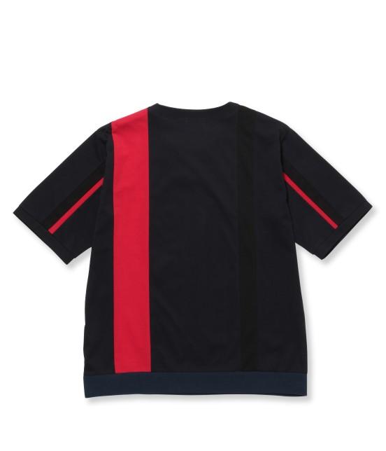 ジュンレッド | 【先行予約】パネルストライプ半袖Tシャツ - 5