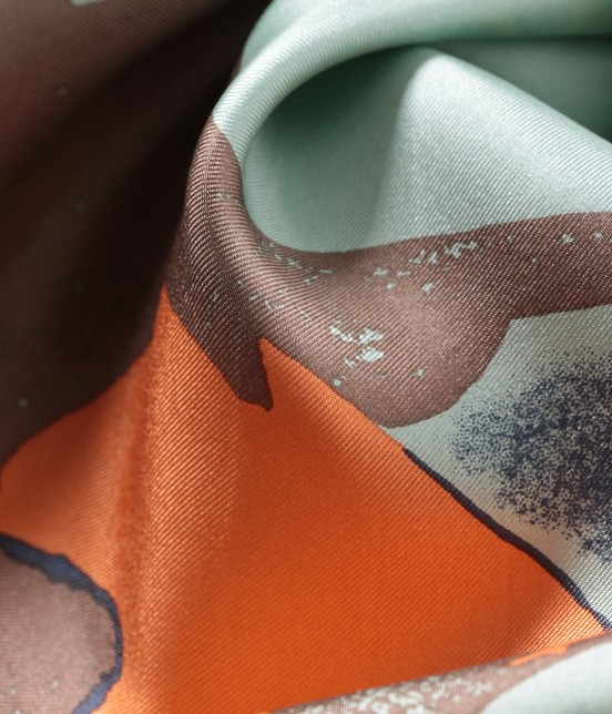 ロペ | 【ロペ シスターズ コレクション】【Oggi5月号掲載】ロートレック柄シルクスカーフ - 2