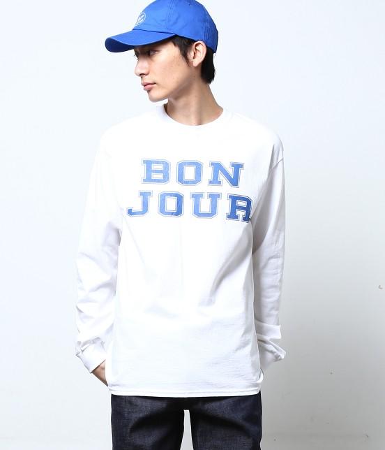 ボンジュールボンソワール | 【bonjour bonsoir】LNG SLV TEE TURU - 6