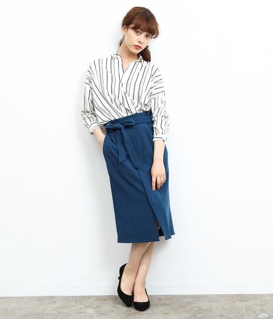 ロペピクニック | 【HAPPY PRICE】ベロアタッチアイラインスカート - 7