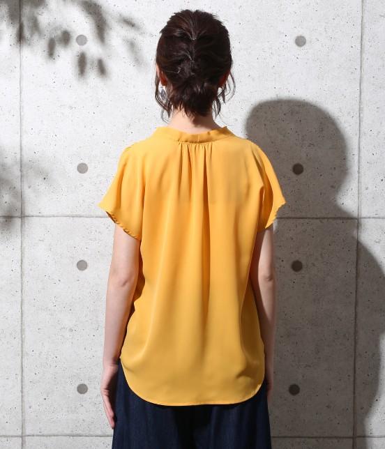 ロペピクニック | 【新色追加】ストレッチツイルタック衿ブラウス - 2