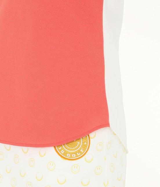 ジュン アンド ロペ | MILLION ICE 配色長袖ポロシャツ - 7