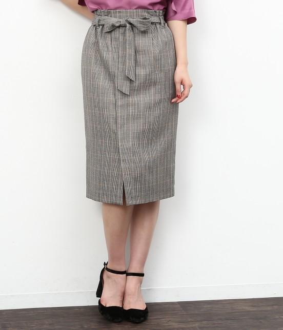 ロペピクニック | リボン付アイラインスカート | ブラック系