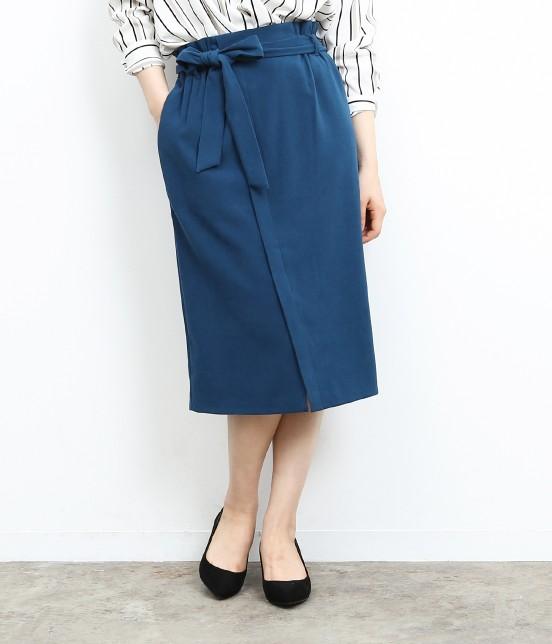 ロペピクニック   【新色追加】【HAPPY PRICE】ベロアタッチアイラインスカート   ターコイズ