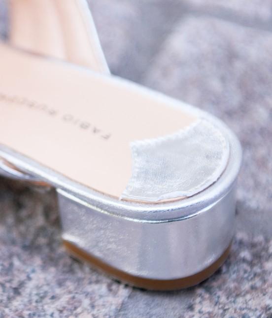 アダム エ ロペ ファム   【FABIO RUSCONI】Metalic Sandals - 6