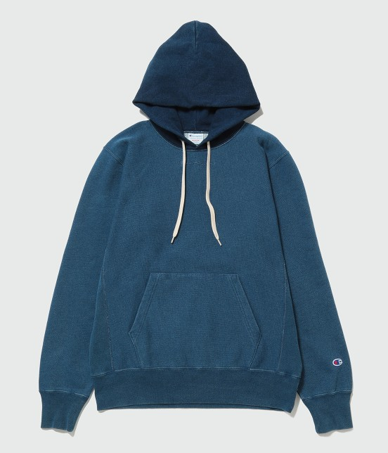 アダム エ ロペ オム | 【Champion for ADAM ET ROPE' 】Exclusive Indigo Hoodie | ブルー系