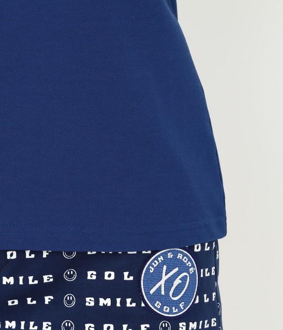 ジュン アンド ロペ | 【UVカット】【吸水速乾】【接触冷感】MILLION ICE Zipポロシャツ - 8