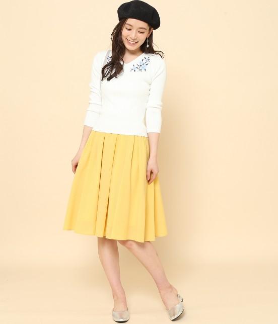 ロペピクニック | 【10%OFF Campaign】【HAPPY PRICE】サップギャザースカート - 8