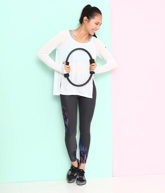 ナージー   【Nike】Power Poly Digital MDS Tights - 8