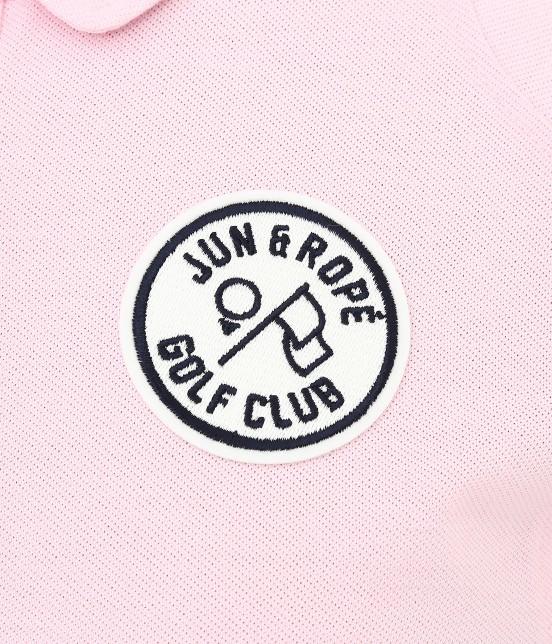 ジュン アンド ロペ | 【UV CUT】【吸水速乾】【接触冷感】ミリオンアイス切替半袖ポロシャツ - 7