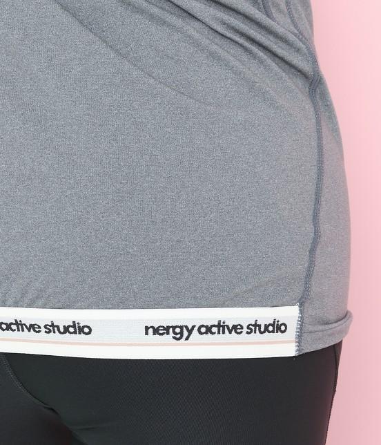 ナージー   nergy active studio フィットモックネック - 9
