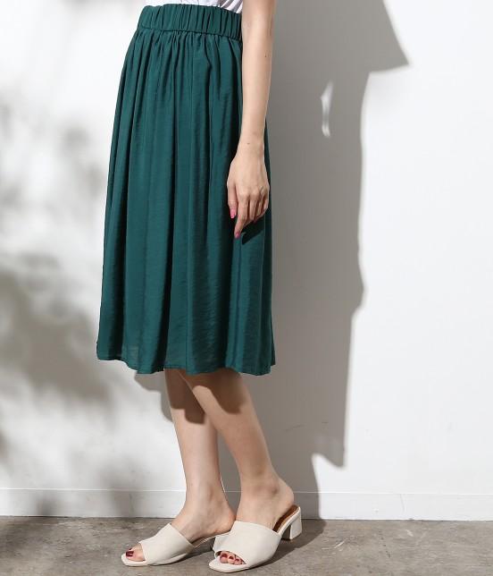 ロペピクニック   ヴィンテージギャザースカート - 1