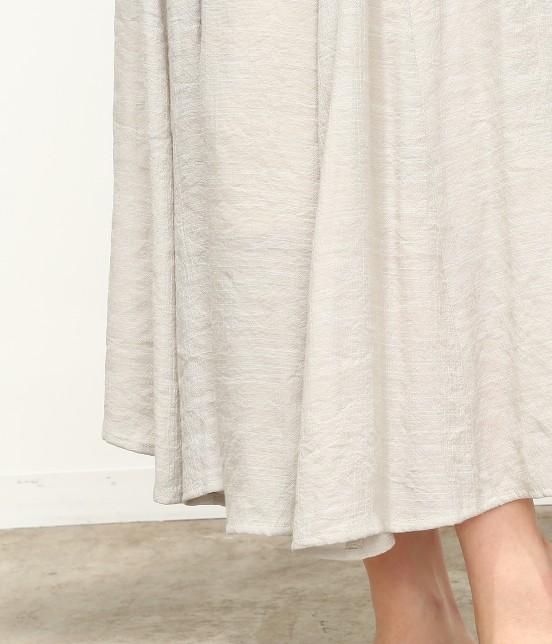 ビス | 【ただいまセール開催中】【SET】ベルト付きスラブローンギャザースカート - 4