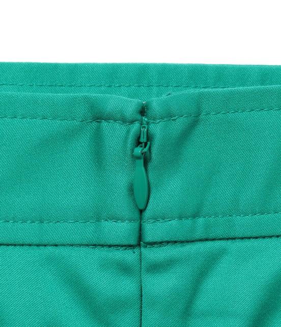 ジュン アンド ロペ | 【透け防止】【吸水速乾】【UVカット】配色ポケットボックスプリーツスカート - 6