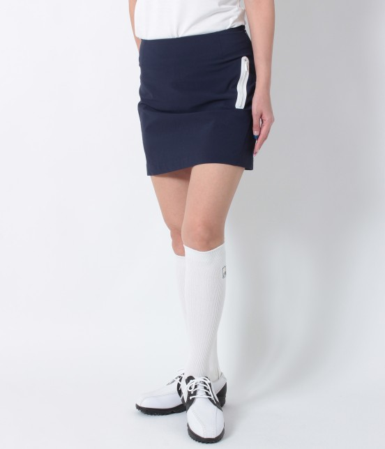 ジュン アンド ロペ | ナイロンストレッチ切替スカート