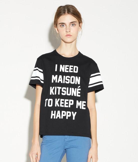 MAISON KITSUNÉ WOMEN   TEE SHIRT I NEED - 7