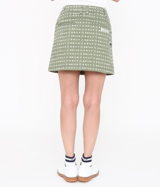 ジュン アンド ロペ | スマイルモチーフプリントスカート - 2