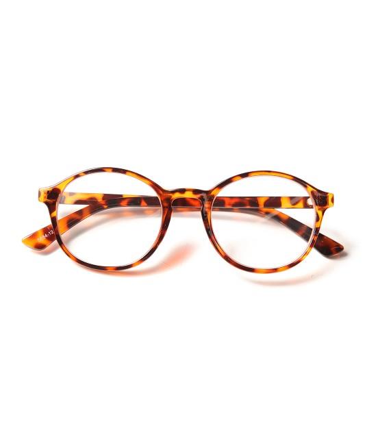 ロペ マドモアゼル | シンプル細フレーム眼鏡 | ダークブラウン