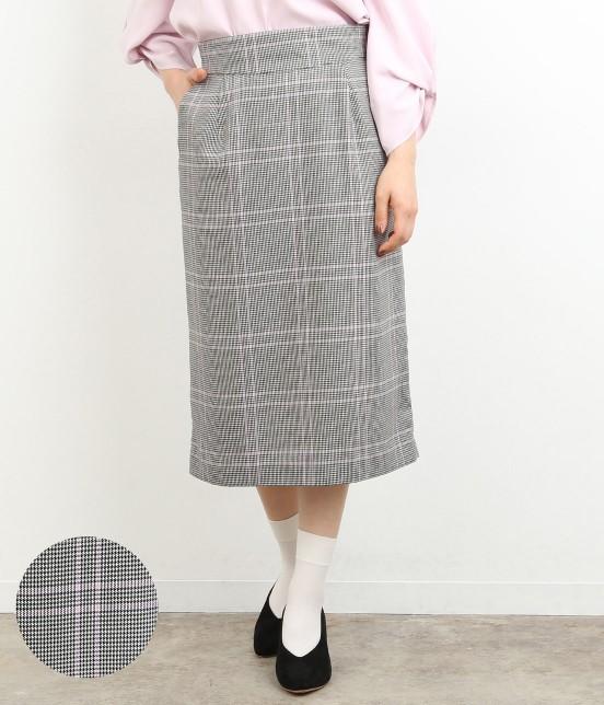 ロペピクニック   【TIMESALE】カラーチェックAラインスカート