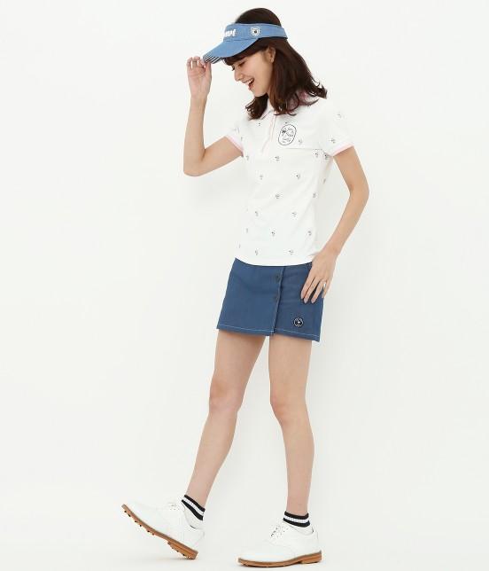 ジュン アンド ロペ   【UV CUT】【吸水速乾】【接触冷感】ワッペン柄プリントポロシャツ - 10