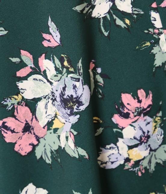 ロペピクニック | 花柄ギャザースカート - 6