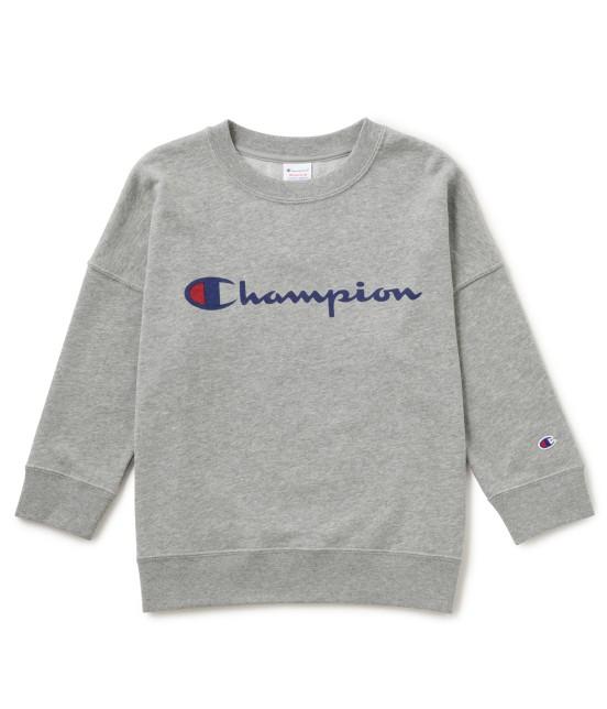 ビス | 【mina4月号掲載】【Champion×ViS】クルーネックロゴスウェット | グレー