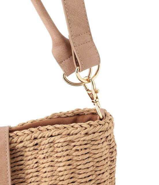 ロペピクニックパサージュ | 【2WAY】丸バックルバケツバスケットバッグ - 5