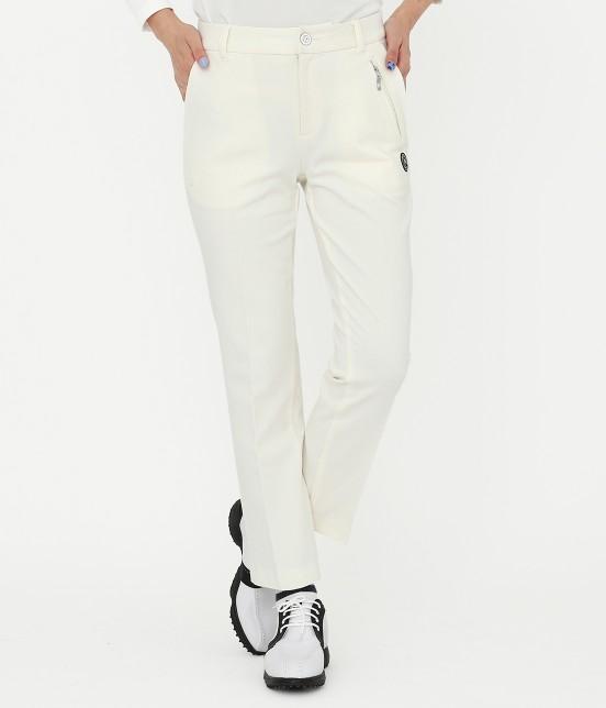 ジュン アンド ロペ | ミラノリブガードル付パンツ | ホワイト