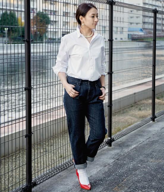 ル ジュン ウィメン | 【LE JUN STANDARD】【2016 SPRING CATALOG掲載】ホワイトシャツ - 6