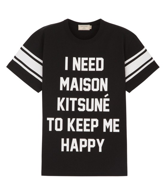MAISON KITSUNÉ MEN | TEE SHIRT I NEED | ブラック